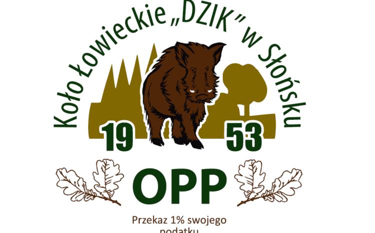 """Koło Łowieckie """"Dzik"""" w Słońsku – przekaż 1% swojego podatku"""